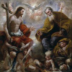 Francisco Caro, siglo XVII. La Santísima Trinidad
