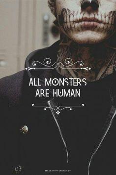 todos los monstruos son humanos