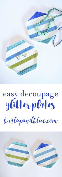 Easy decoupage glitt