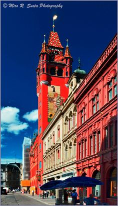 Basel City Hall, Freie Street, Basel, Switzerland Copyright: Miro Susta
