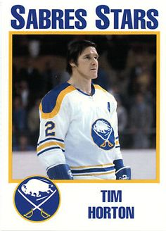 Buffalo Sabres defenseman Tim Horton.... thank you for the cocaine infused coffee