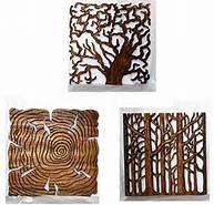 Wood art for walls