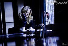 Ingrid Schram sur le tournage de Bleu de Chanel (Source : http://www.purepeople.com/media/ingrid-schram-sur-le-tournage-de-bleu_m443216#) #Chanel #advertising #Ulliel #Scorsese #NYC #bleu #perfume