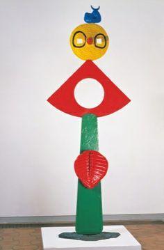 Joan Miro, La Caresse d'un Oiseau, 1967