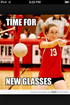 Volleyball Problems! ugh gatta hate those