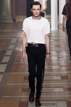 Lanvin Spring 2015 Menswear Collection Slideshow on Style.com