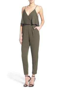 ASTR ASTR Popover Bodice Crop Jumpsuit available at #Nordstrom