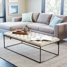 Captivating Renate Coffee Table Ottoman By I Love Living | Coffee Table Ottoman,  Ottomans And Coffee