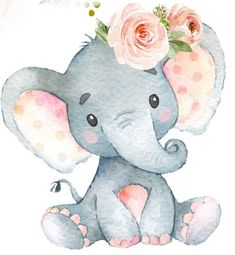 Cute Elephant Drawing, Baby Animal Drawings, Cute Baby Elephant, Elephant Art, Cute Baby Animals, Cute Drawings, Elephant Theme, Cartoon Baby Animals, Cute Elephant Cartoon