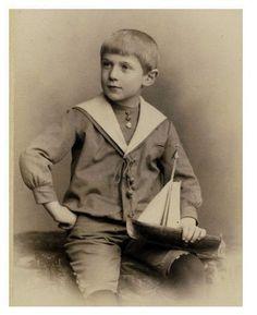 Boy in a sailor suit 1890