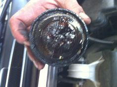 This is what happens if you don't Change you oil often (every 3,000 mile)... Sludge, and if left unattended it will ruin you engine!  http://www.aamcovenice.com/