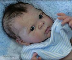 TINKERBELL NURSERY Helen Jalland reborn baby Prototype doll Adrie Stoete Eric