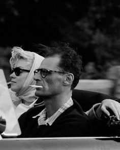 Marilyn with Arthur Miller Oh wow I just love this. Wish I was alive in the 60s