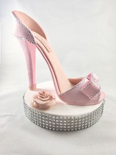 9564c1c9ad2e Gumpaste high heel Fondant high heel Sugar Heel High heel topper Fashion  topper Fondant shoe Cake topper High heel Cake Gumpaste Shoe