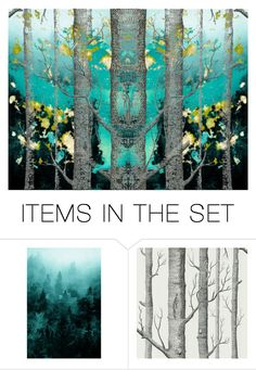 """""""Deep in the Wood"""" by beanpod ❤ liked on Polyvore featuring art"""