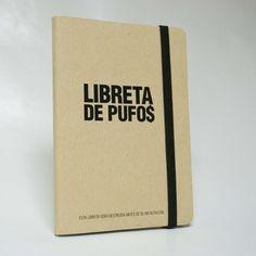 libreta de pufos / catrotintas - Artesanio