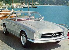 Mercedes-Benz 230 SL Coupe (Pininfarina), 1964