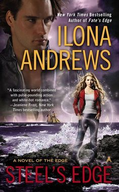 Steel's Edge - Ilona Andrews  Waiting to get this from the library