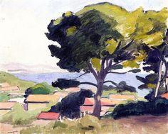 L'Estaque / Albert Marquet - 1918