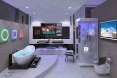 Hi-tech Bathroom