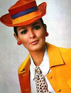 Fashion for Burda Moden, February 1967