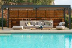 """The Cap Adriano experience"" by Minotti Interior Exterior, Home Interior Design, Interior Decorating, Outdoor Sofa, Outdoor Furniture, Outdoor Decor, Villas, Minotti Furniture, Level Homes"