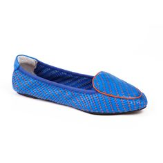 Clapham Peacock Blue & Orange - Shoes - Shop