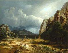 Horse Thief | George Caleb Bingham. Oil on canvas, 1852