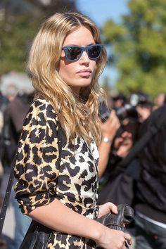 """streetsfinest: """" femalemodels: """" Georgia May Jagger in Paris for PFW, September """" Streets Finest """" Street Chic, Street Style, Miss Georgia, Georgia May Jagger, Animal Print Outfits, Leopard Fashion, Rose Boutique, Glam Girl, Complete Outfits"""