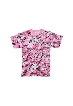 Ultra Force Mens Pink Digital Camouflage T Shirt   Buy Now at camouflage.ca
