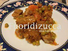 spezzatino con verdure #stew with vegetables