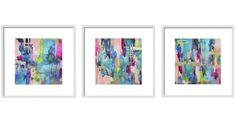Limezinnias Design  https://www.etsy.com/listing/479026473/baja-blue-gallerywall-abstract-print-set