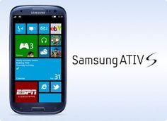 Samsung apresenta novo smartphone com Windows Phone