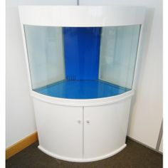 Corner Fish Tank Aquarium Bow Front - All Pond Solutions - All Pond Solutions