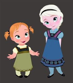 Frozen~Anna and Elsa
