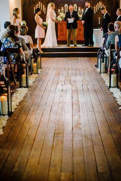 [The aisle] Photo by Kayla Coleman Photography www.allsaints1875.com #allsaintschapel #allsaints1875 #downtownraleigh #weddingvenue #ceremony #raleighweddingvenue