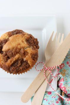 Cherry Coffee Cake Muffins