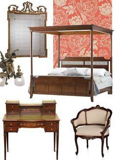 Steal the Style: Downton Abbey decor ideas. Downton Abbey Fashion, English Decor, Furniture Styles, Furniture Design, Home Decor Styles, Decoration, Planer, House Design, Design Design