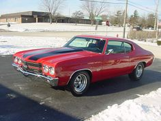 1970 SS Chevelle...freakin awesome...