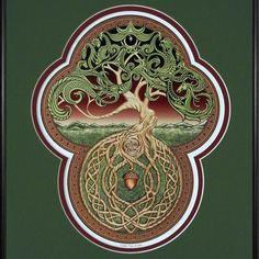 Celtic Tree of Life Digital Print