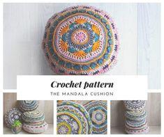 Crochet PDF Pattern Mandala Round Hygge by LaMartizHandmade