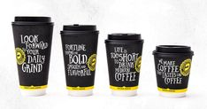 World Packaging Design Society / 世界包裝設計社會 / Sociedad Mundial de Diseño de Empaques Coffee Logo, Coffee Branding, Coffee Packaging, Food Packaging, Brand Packaging, Product Packaging, Packaging Ideas, Paper Cup Design, Cafe Cup