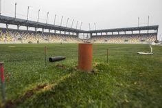 Pohľad na nový futbalový štadión Dunajskej Stredy - fotogaléria - sport.sme.sk - sport.sme.sk