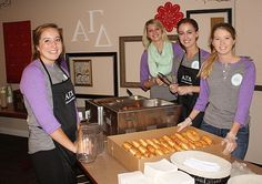 Alpha Gamma Delta at Iowa State University. Can't wait for our doughnut philanthropy :)))