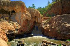 Soda Dam, Jemez Springs If it wasn't always packed i'd like it more! #jemessprings #newmexico