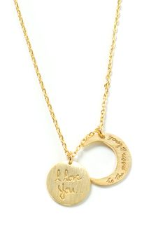 To The Moon And Back Charm Necklace GOLD SILVER - GoJane.com