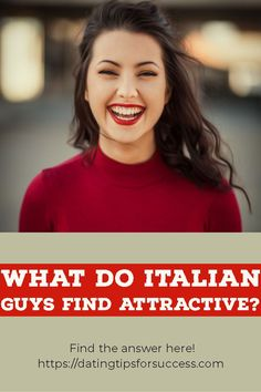 Dating Italian guys is unlike anything you have ever or will ever experience. So what do Italian men find attractive? Read on to find out. New Dating App, Online Dating Websites, Dating Sites Reviews, Best Dating Sites, Dating Tips, Dating After 40, Italian Men, Single Dads, Make A Person