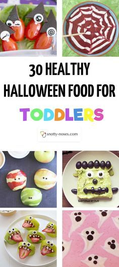 Haunting but Healthy Halloween Treats Healthy halloween treats - halloween treat ideas for toddlers