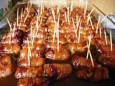Bacon wrapped smokies; a perfect low carb finger food - National Low Carb | Examiner.com