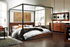 The Dump Furniture - TRIBECA QUEEN PLATFORM BED